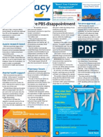 Pharmacy Daily for Tue 14 Aug 2012 - More PBS disappointment, Tarceva approval, Pharmacy forum, Drug transparency and much more...