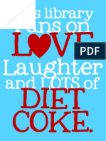 This Library DIET COKE