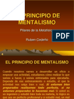 El Principio de Mentalismo