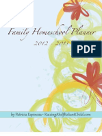 Family Homeschool Planner
