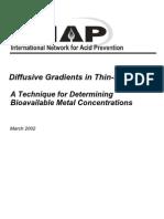 Diffusive Gradients in Thin-Films