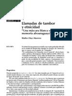 Díaz Marrero,Walter - Una mascara blanca sobre la memoria afrouruguaya