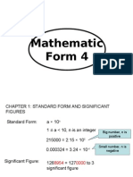 Form 4 Notes