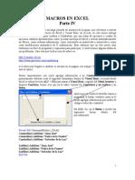 Guia Macros de Excel IV