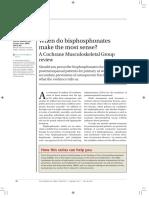 Cochrane Review Osteoporosis 2011
