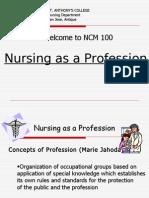 Nursing as a Profession