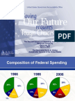Saving Our Future Requires Tough Choices Today - by David Walker, GAO Chief, 2007