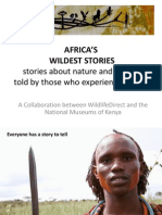 AFRICA'S WILDEST STORIES presentation