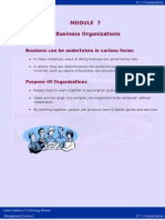 Business Organisation