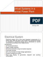 Electrical Systems in Power Plant - By energo engineering ETEs