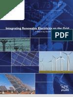 Integrating Renewable Electricity on the Grid Integratingelec