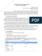 Su Dung Google Lam Online