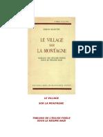 Le Village Sur La Montagne