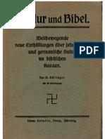 Doellinger, Friedrich - Baldur Und Bibel (1920, 196 S., Scan, Fraktur)