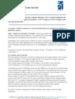3C Etudes - Communiqué de presse - Les origines ethniques des Tunisiens