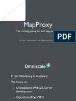 Mapproxy Tutorial