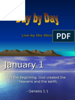 January 2009 - Day by Day