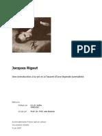 Jacques Rigaut  - Une introduction à la vie et à l'œuvre d'une légende surréaliste