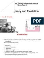 Buoyancy and Floatation