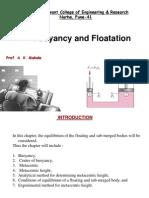 Buoyancy and Floatation