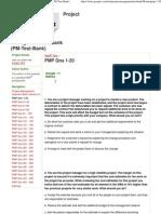 PMP Qns 1-20