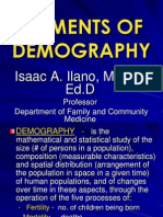 Elements of Demography-prof Ilano Copy 3rd Yr 07-08