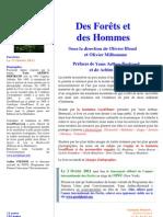 """Communiqué de Presse - """"Des Forêts et des Hommes"""""""