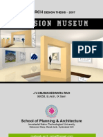 Illusion Museum - B.arch Design Thesis Report - Architecture