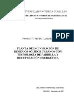 Planta Incineracion