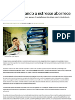 Boreout quando o estresse aborrece - Artigos - Revista Você RH