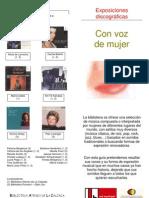 Con voz de mujer - Discografía de intérpretes femeninas