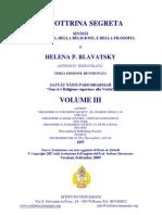 (eBook - ITA - Esoterismo - Teosofia) - Helena Petrovna Blavatsky - La Dottrina Segreta Vol 3