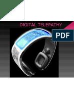 Project on Digital Telepathy