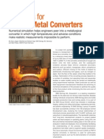 AA V1 I1 Fire Tests for Molten Metal Converters