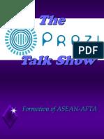 The Prezzi Talk Show
