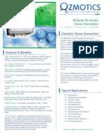 Ozmotics Ozone Generator Brochure