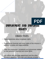 Employment and Employee Rights Ppt
