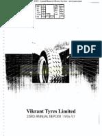 Vikrant Tyres Ltd 1997