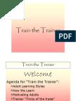 Train the Trainer 798