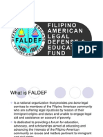 FALDEF Presentation 2012 - WHY OUR MISSION IS YOUR MISSION