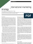 Japanese international marketing strategy