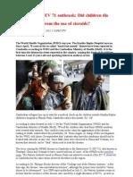Cambodia EV 71 Outbreak