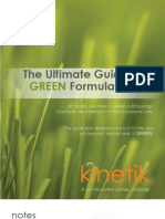 Kinetik Technologies Green Guide