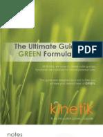 Kinetik Technologies Green Guide