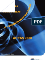 Actas-2008 CONGRESO