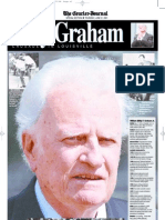 Billy Graham 2001 Section