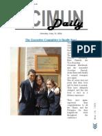 CCIMUN Daily - May 10, 2004