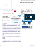JDBC Driver and Its Types
