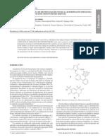 Estrategia en el desarrollo de métodos analíticos para la determinación simultanea de compuestos orgánicos por espectrofotometría derivada