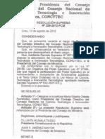Designan a María Gisella Orjeda, presidenta del Consejo Directivo del Concytec